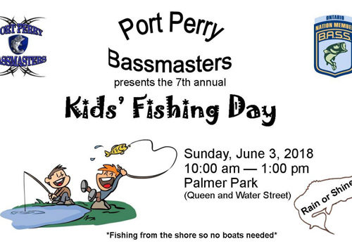 7th Annual Port Perry Kids Fishing Day