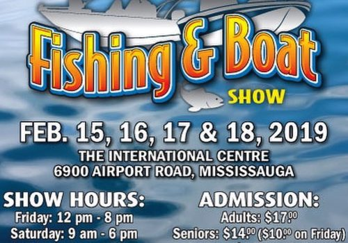 2019 Spring Fishing and Boat Show