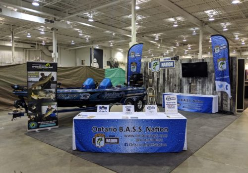 Ontario B.A.S.S. Nation booth at 2019 TSS!